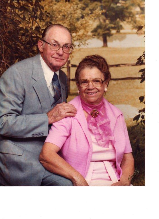 Ernest and Minnie Morrison